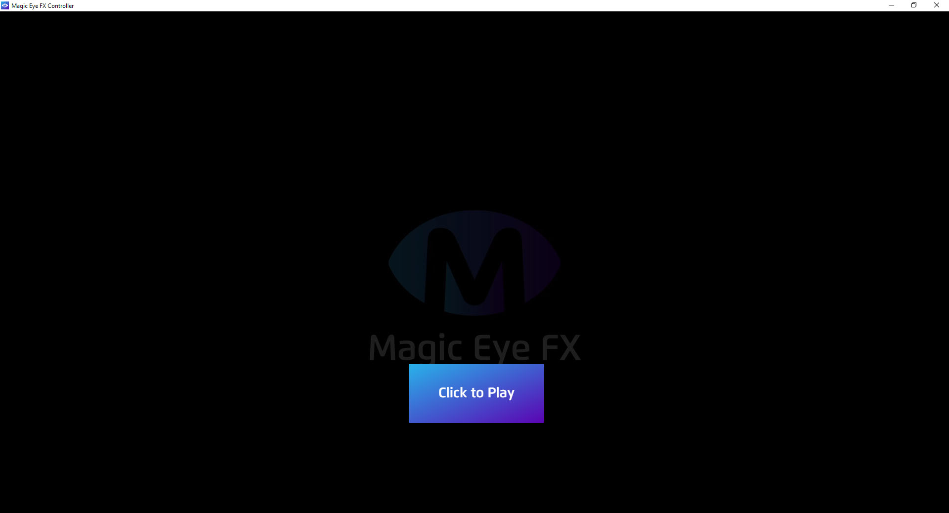 Magic Eye FX Software Click to Play
