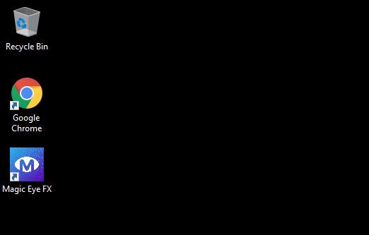 Magic Eye FX Software Shortcut Icons